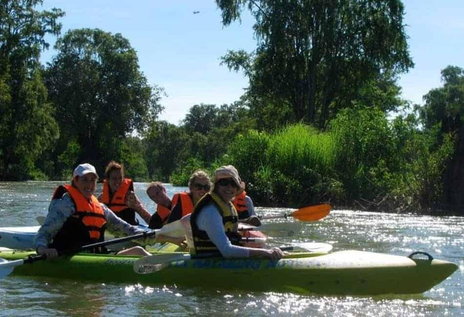 Kayaking in Kratie
