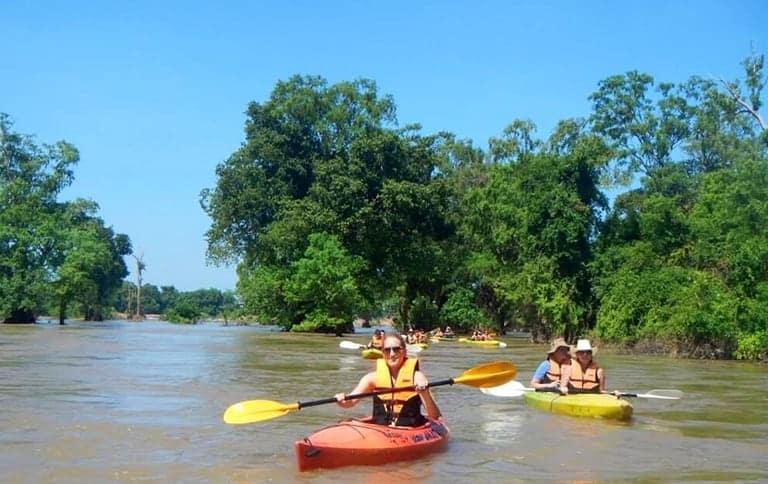 Kayaking Kratie